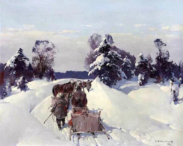 油画中的大美自然,迷人的乌克兰风情插图69