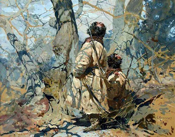 油画中的大美自然,迷人的乌克兰风情插图73