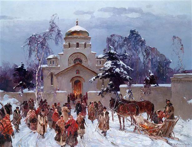 油画中的大美自然,迷人的乌克兰风情插图75