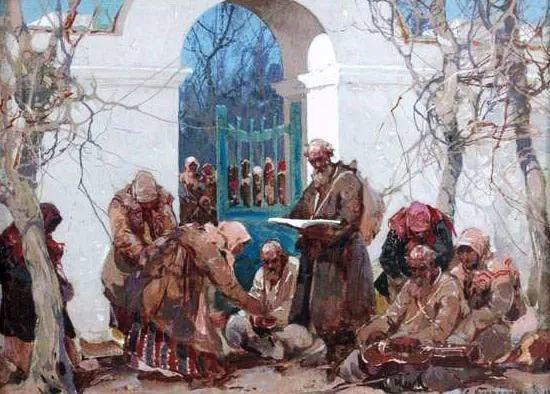 油画中的大美自然,迷人的乌克兰风情插图77