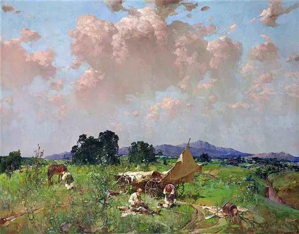 油画中的大美自然,迷人的乌克兰风情插图85