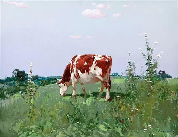 油画中的大美自然,迷人的乌克兰风情插图91