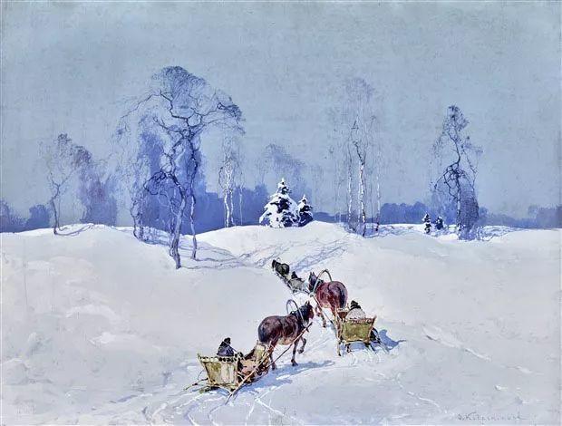 油画中的大美自然,迷人的乌克兰风情插图97