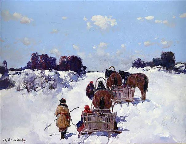 油画中的大美自然,迷人的乌克兰风情插图99