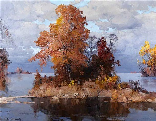 油画中的大美自然,迷人的乌克兰风情插图103