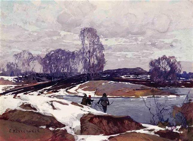 油画中的大美自然,迷人的乌克兰风情插图105