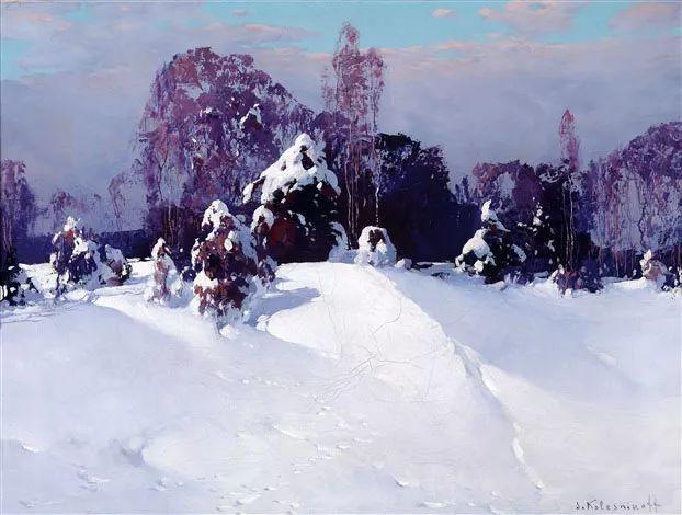 油画中的大美自然,迷人的乌克兰风情插图107