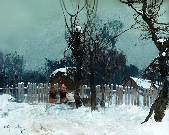 油画中的大美自然,迷人的乌克兰风情插图109