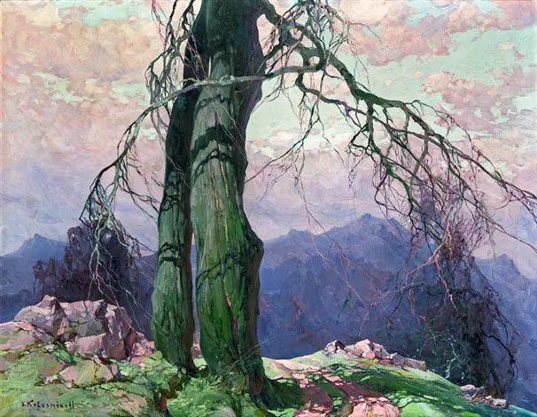 油画中的大美自然,迷人的乌克兰风情插图111