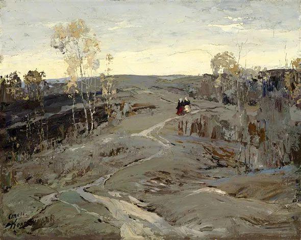 油画中的大美自然,迷人的乌克兰风情插图113