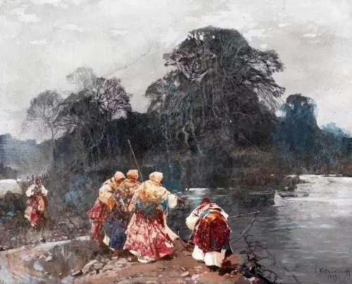 油画中的大美自然,迷人的乌克兰风情插图117