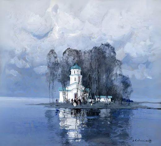 油画中的大美自然,迷人的乌克兰风情插图119