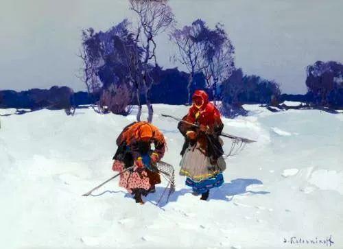 油画中的大美自然,迷人的乌克兰风情插图123