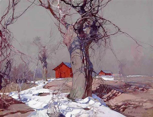 油画中的大美自然,迷人的乌克兰风情插图125