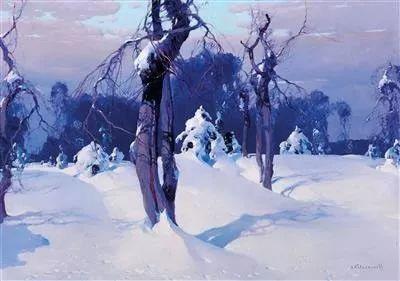 油画中的大美自然,迷人的乌克兰风情插图127