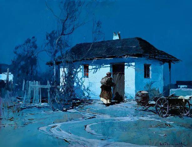 油画中的大美自然,迷人的乌克兰风情插图129