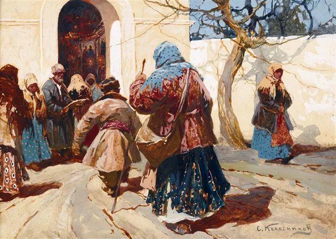 油画中的大美自然,迷人的乌克兰风情插图135