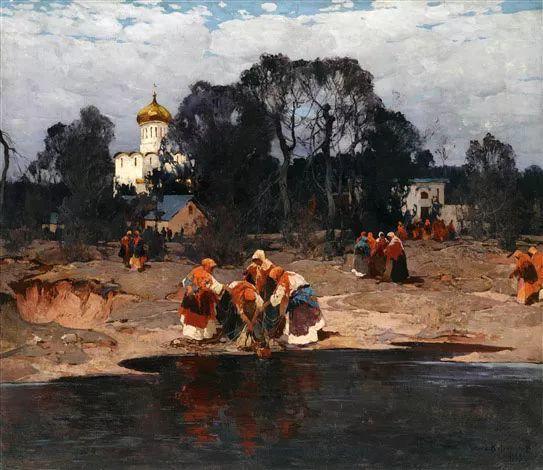 油画中的大美自然,迷人的乌克兰风情插图137