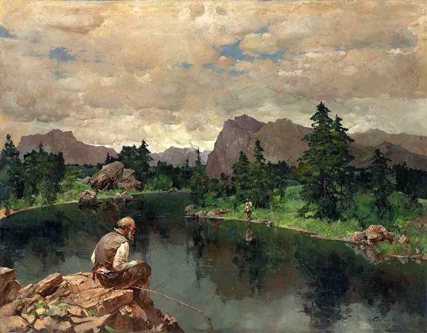 油画中的大美自然,迷人的乌克兰风情插图153