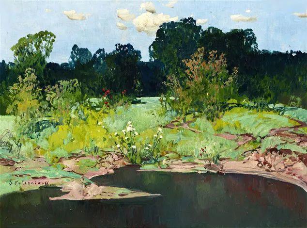 油画中的大美自然,迷人的乌克兰风情插图155