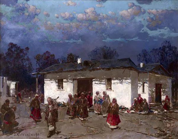 油画中的大美自然,迷人的乌克兰风情插图157