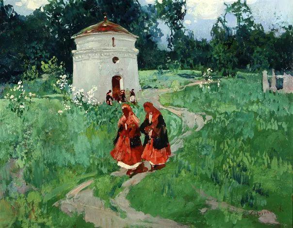 油画中的大美自然,迷人的乌克兰风情插图159
