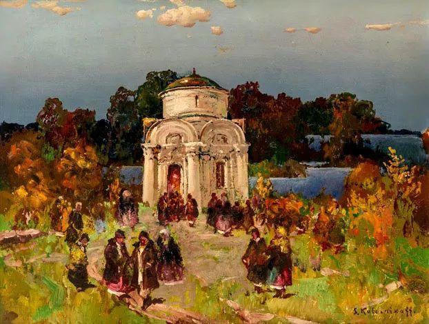 油画中的大美自然,迷人的乌克兰风情插图165