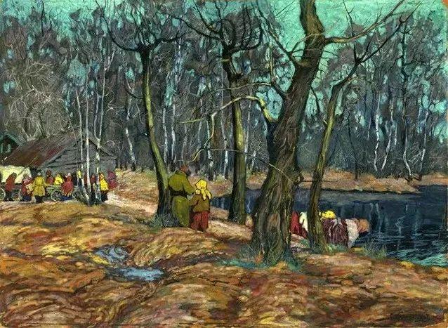 油画中的大美自然,迷人的乌克兰风情插图167
