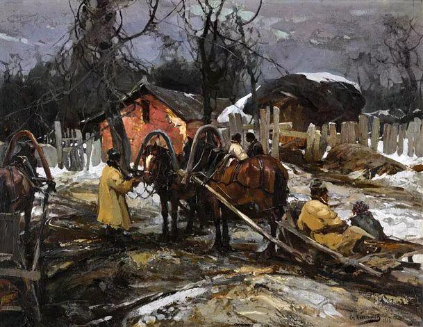 油画中的大美自然,迷人的乌克兰风情插图177