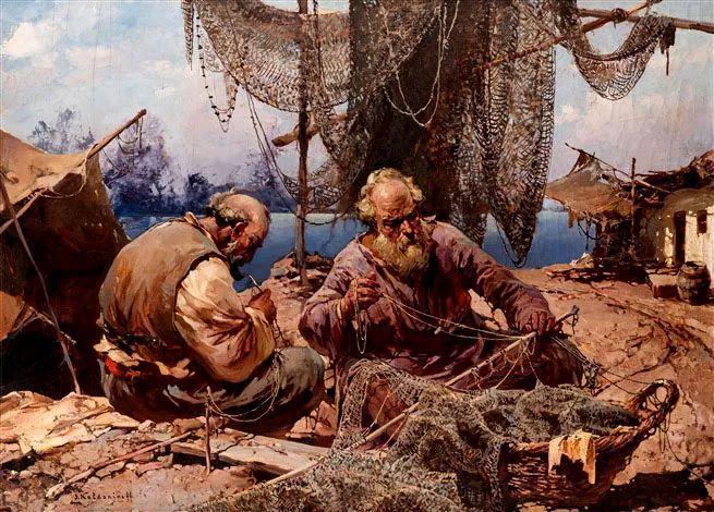 油画中的大美自然,迷人的乌克兰风情插图179
