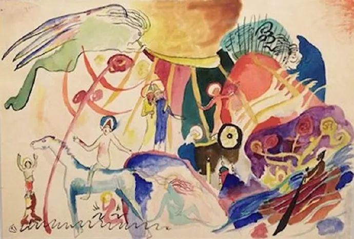 抽象艺术的先驱 俄罗斯康定斯基插图17