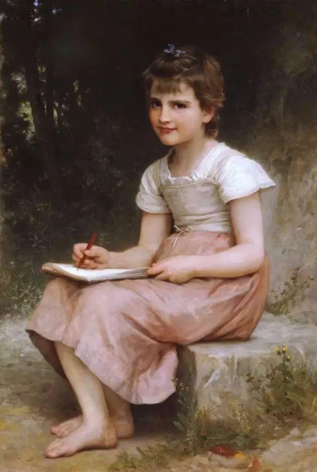艺术家笔下的纯真童年,有一种触动心灵的美!插图16