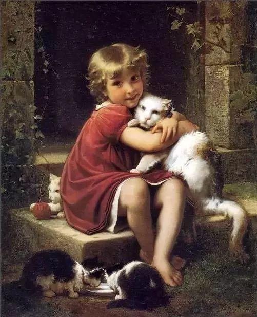 艺术家笔下的纯真童年,有一种触动心灵的美!插图28