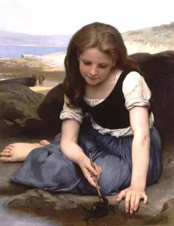 艺术家笔下的纯真童年,有一种触动心灵的美!插图37