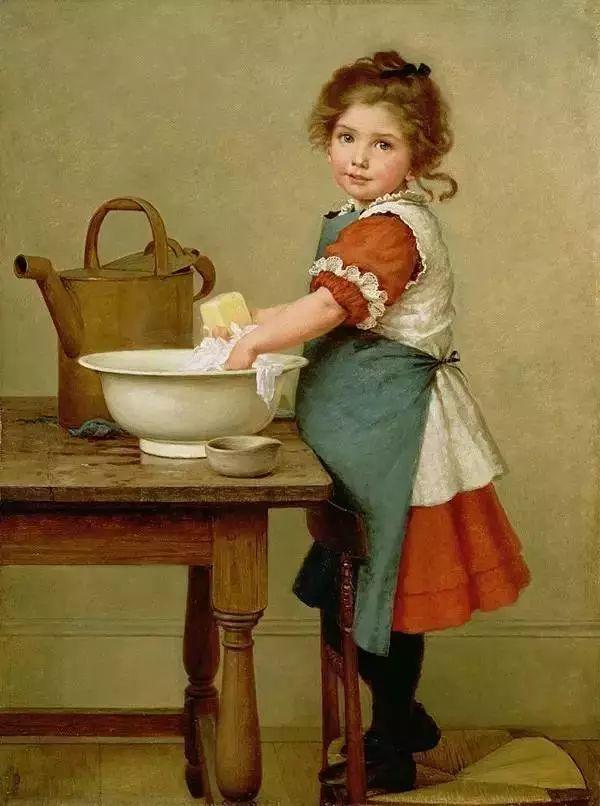 艺术家笔下的纯真童年,有一种触动心灵的美!插图39