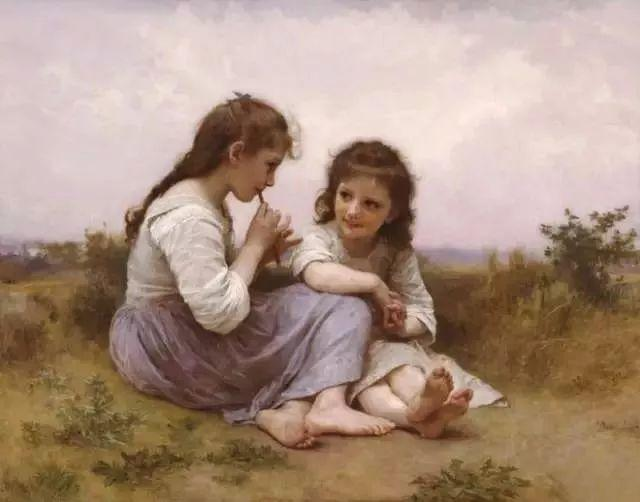 艺术家笔下的纯真童年,有一种触动心灵的美!插图48