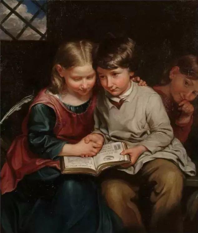 艺术家笔下的纯真童年,有一种触动心灵的美!插图49