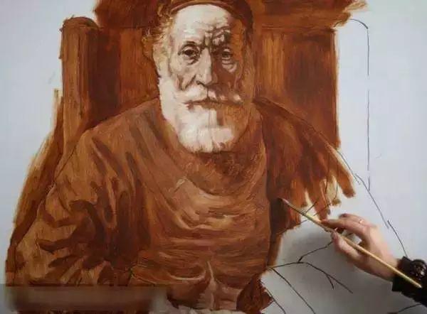 光影大师伦勃朗的油画步骤插图5