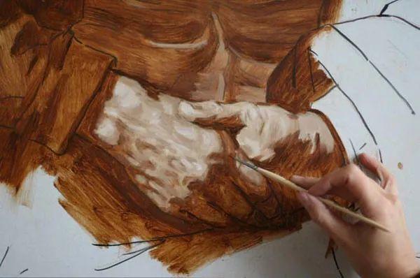 光影大师伦勃朗的油画步骤插图6