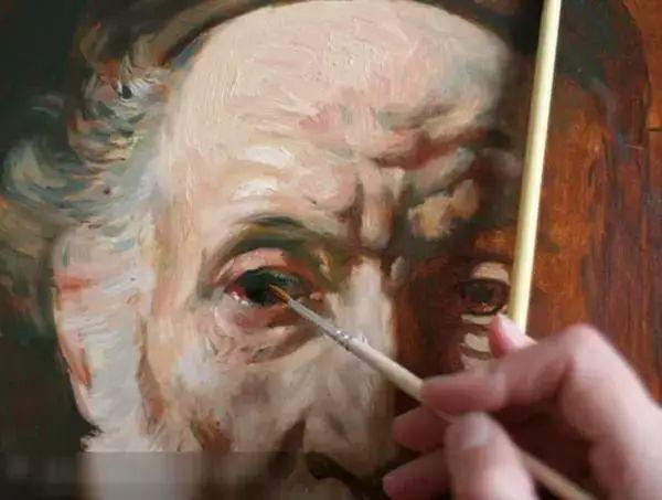 光影大师伦勃朗的油画步骤插图9