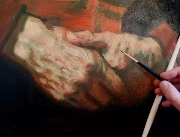 光影大师伦勃朗的油画步骤插图10