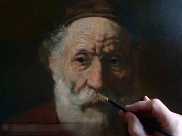 光影大师伦勃朗的油画步骤插图15