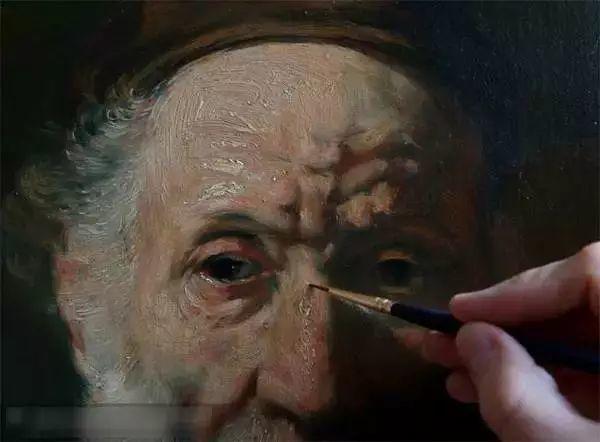 光影大师伦勃朗的油画步骤插图16