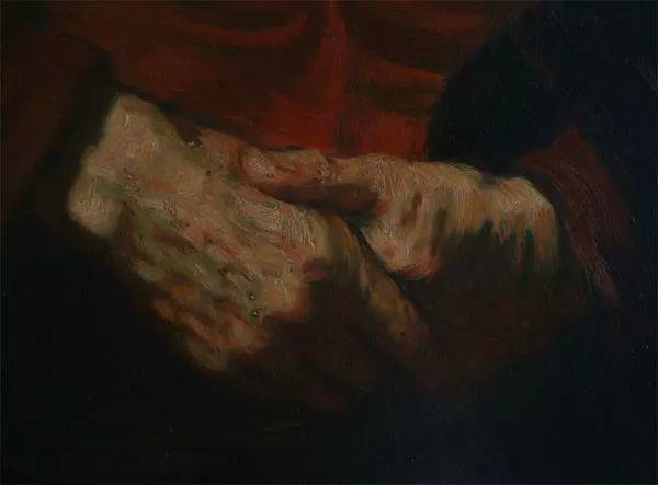 光影大师伦勃朗的油画步骤插图18