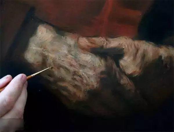 光影大师伦勃朗的油画步骤插图19