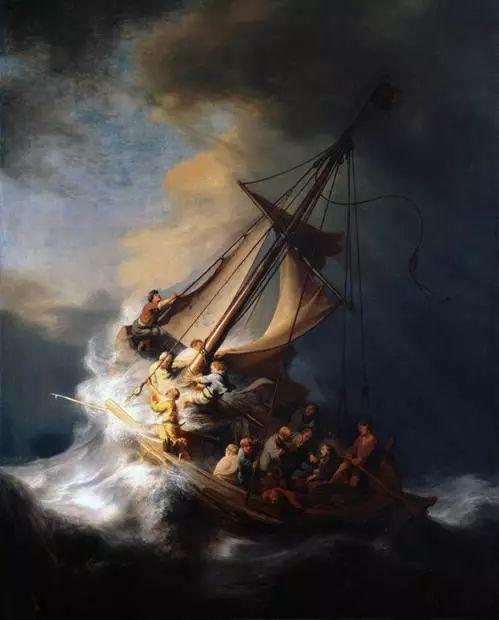 光影大师伦勃朗的油画步骤插图36