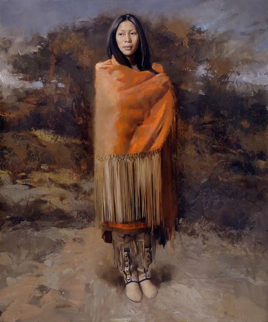 人物油画 美国现代著名画家William Whitaker插图13