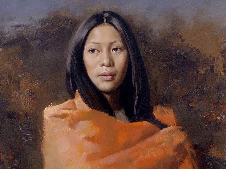 人物油画 美国现代著名画家William Whitaker插图14
