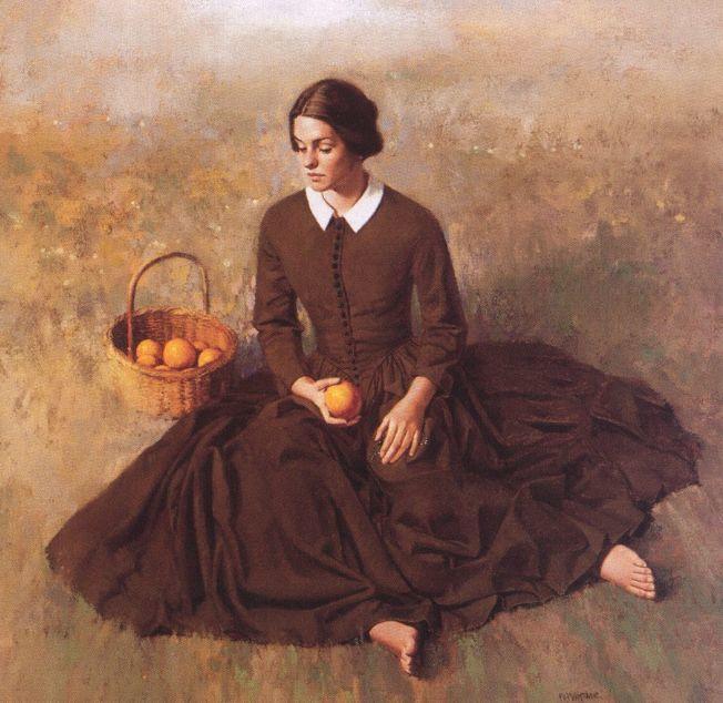 人物油画 美国现代著名画家William Whitaker插图20