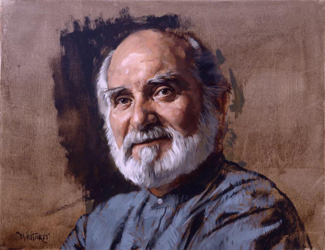 人物油画 美国现代著名画家William Whitaker插图24